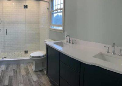 bathroom remodel job in Walpole, MA by SAAB plumbing and heating