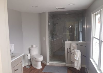 new bathroom remodel job completed by saab plumbing and heating in Ashland, Massachusetts