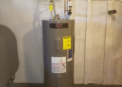 water heater installation by saab plumbing and heating